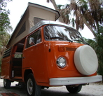 VW Bus Rentals, Autumnl, 1977 VW Westfalia