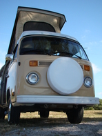 VW Bus Rentals, Karl, 1979 VW Westfalia