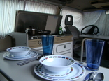 Kitchen in VW Bus