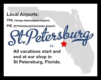 St Petersburg/Clearwater Airport, Tampa International Airport, St Petersburg, Tampa Bay