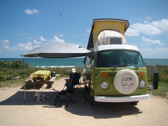 vw bus, Florida Oldscool Campers, LLC Camping A/C