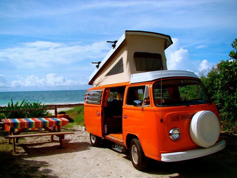 vw bus, Florida Oldscool Campers, LLC Autumn